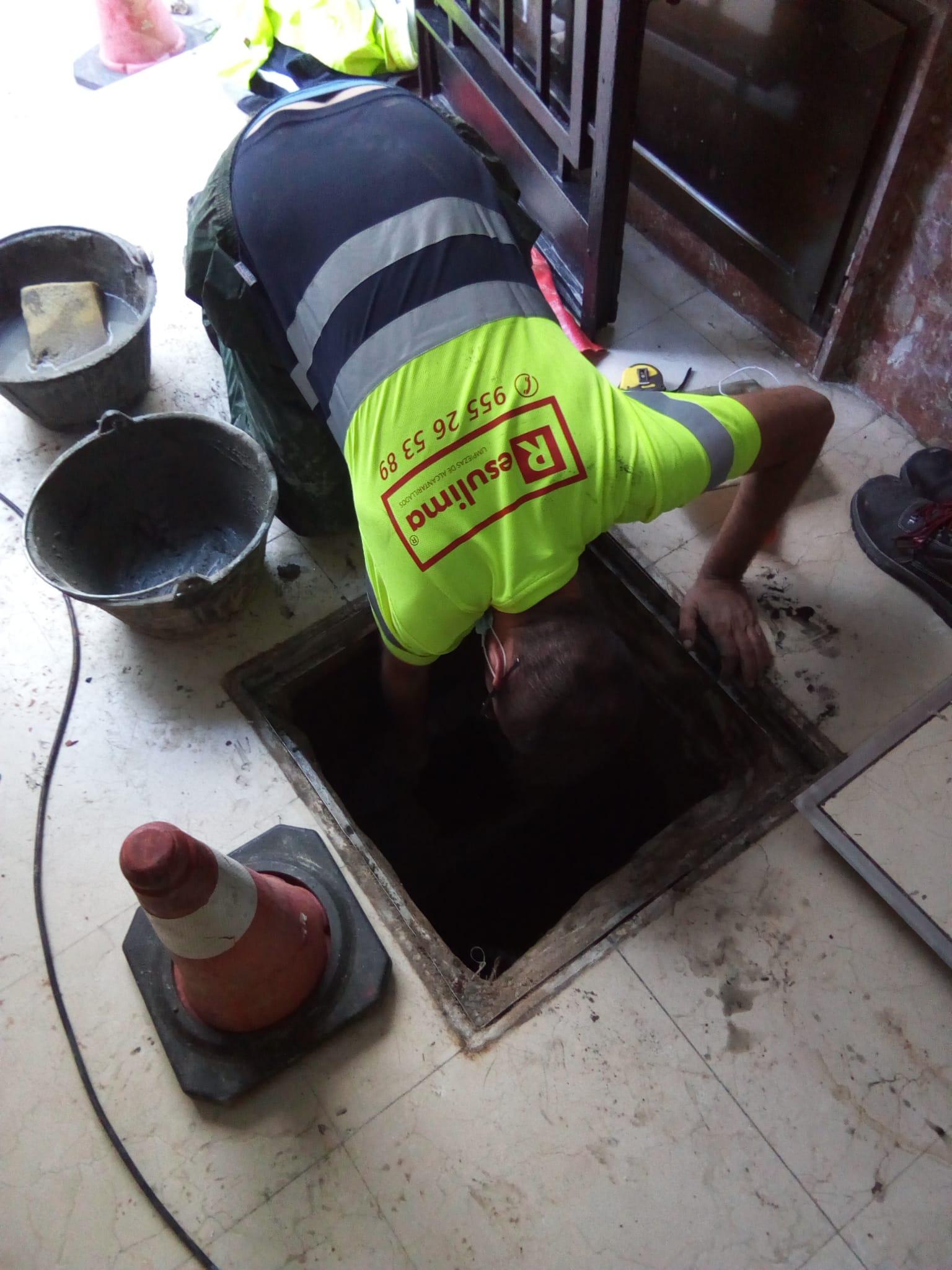 Reparación y construcción de arquetas sifónicas en Sevilla