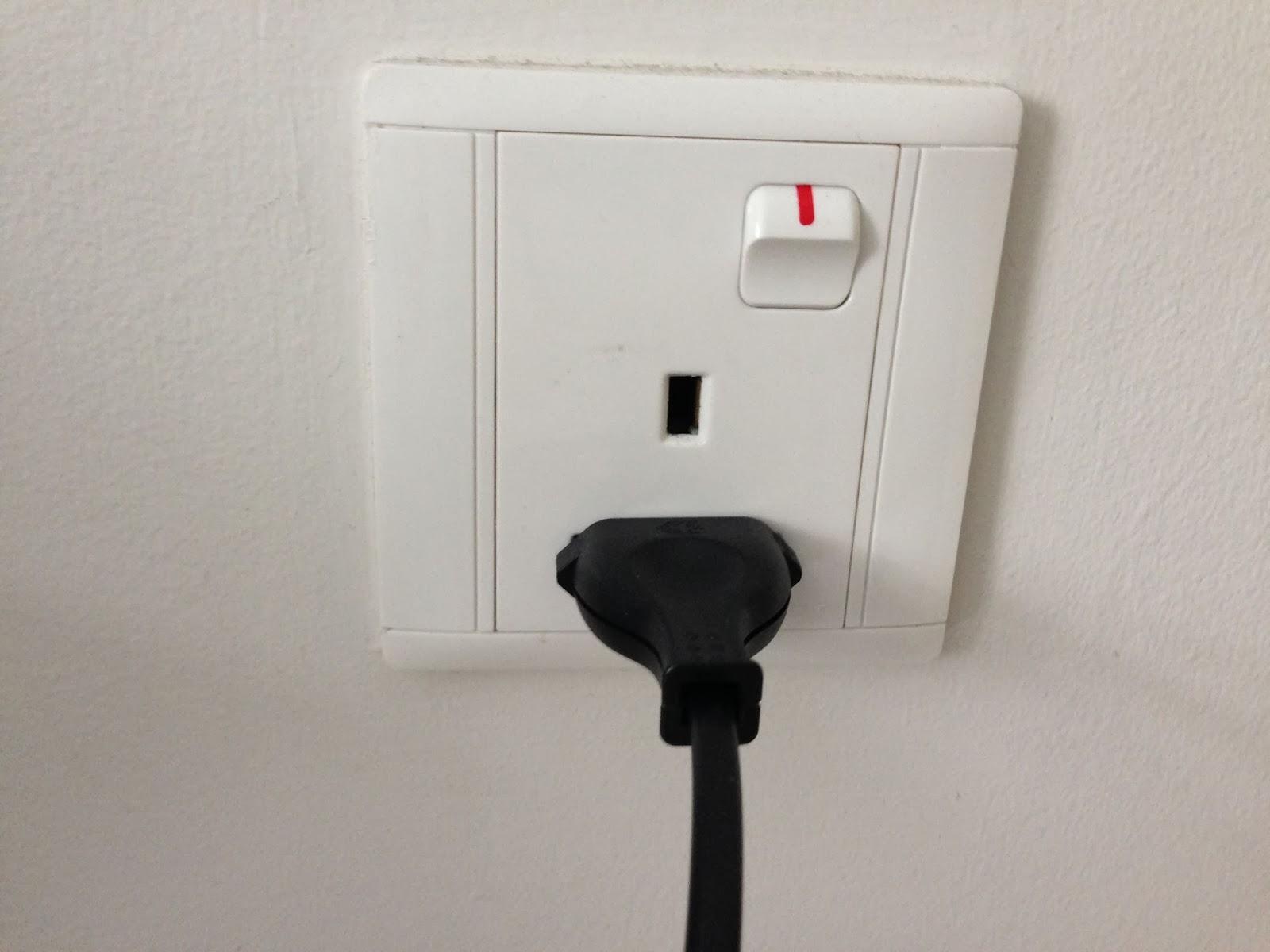 Un Zeste De Singapour Les Prises électriques à Singapour