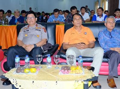 Wakapolda Jambi Hadiri Kegiatan Acara Konfederasi Daerah KSPSI Provinsi Jambi