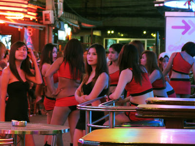 sexy pick up girls from Soi Cowboy 6