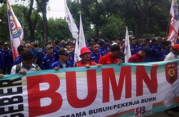 Pegawai BUMN Lakukan Aksi Mogok Bila Dipaksa Ikut Kampanye Jokowi