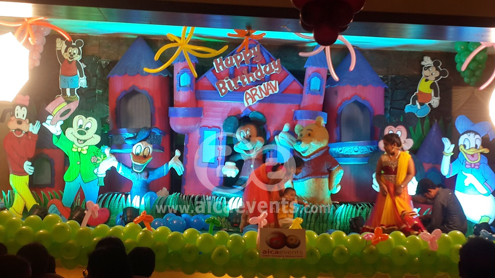Aicaevents Mickey Mouse Club Theme Decorations