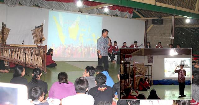 Presenter Cilik di Sosialisasi Indonesia