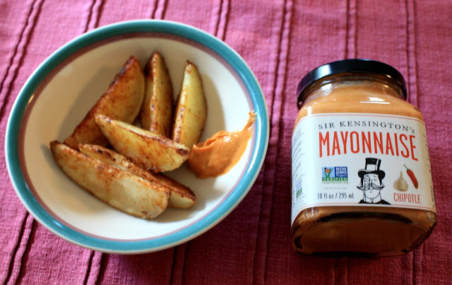Sir Kensington's Spicy Chipotle Mayo used for potato wedges.