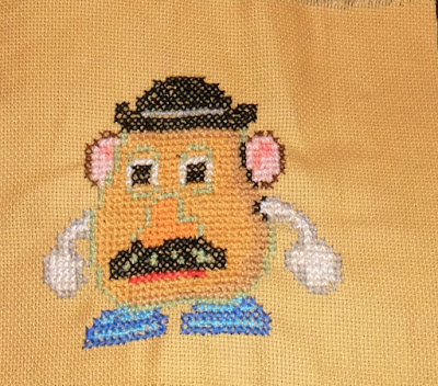 cross stitch, Toy Story