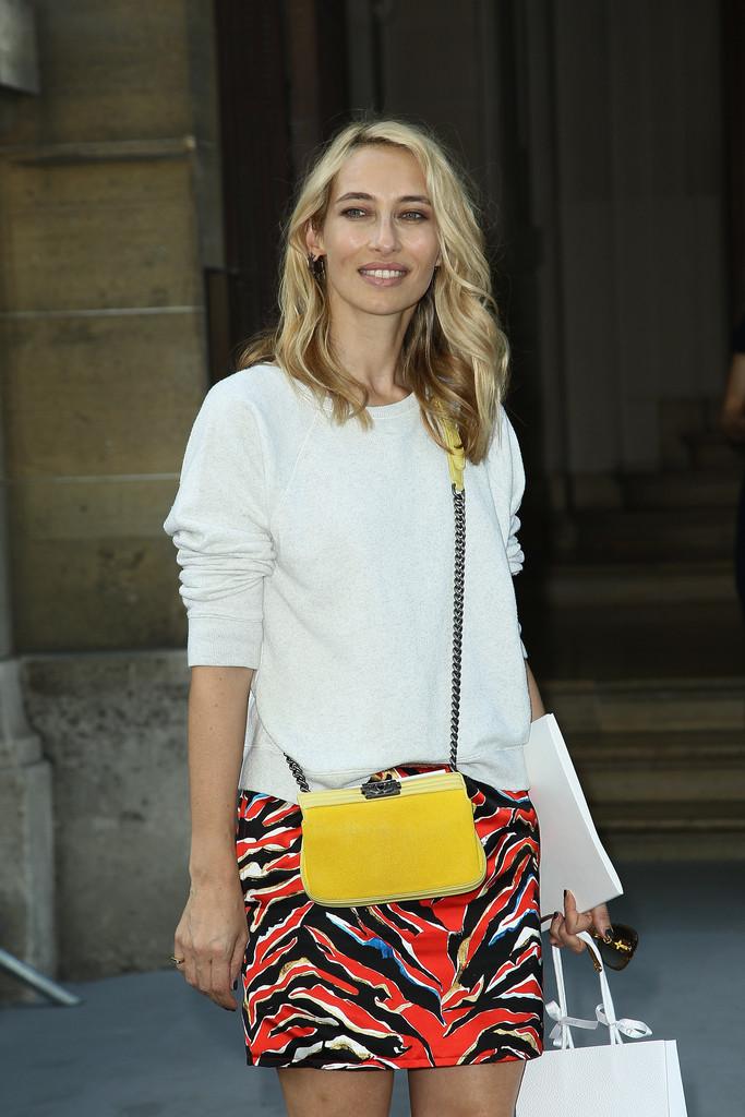 Carine Roitfeld Amp More Dior Haute Couture Arrivals The