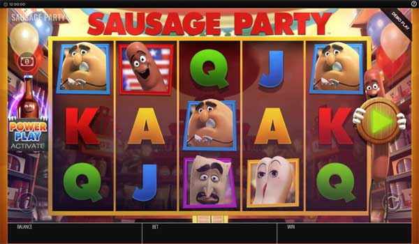 Main Gratis Slot Indonesia - Sausage Party (Blueprint Gaming)