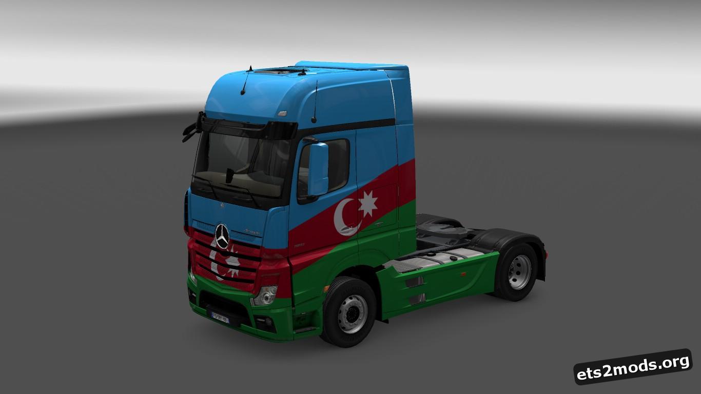 Azerbaijan Skin for MP4