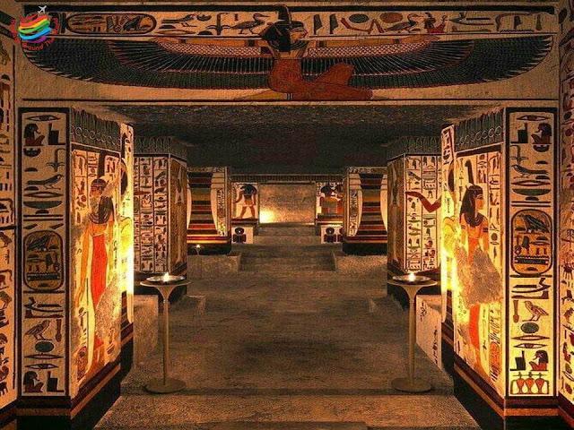 Valley of Queens - Nefertari Tomb