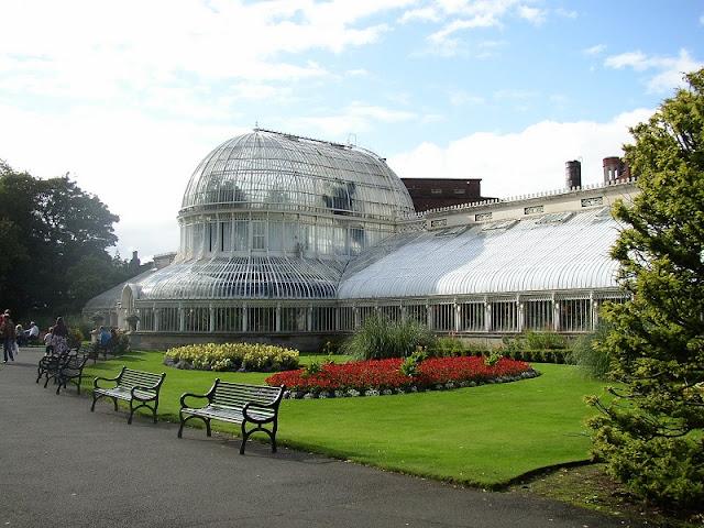 Passeio no Jardim Botânico de Dublin