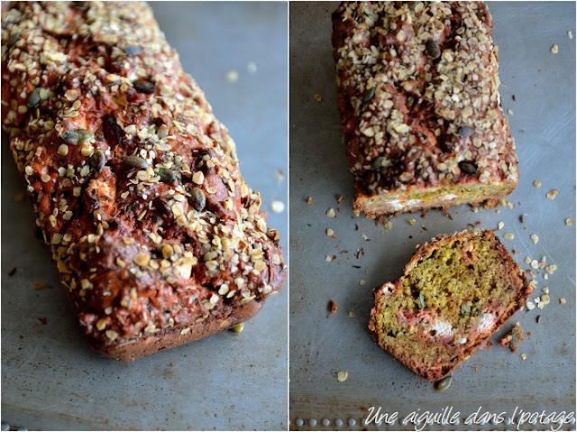 Ottolenghi's Beet Caraway, & Goat Cheese Bread