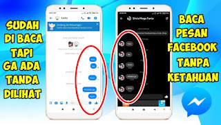Cara Membaca Pesan Di Messenger Facebook Tanpa Tanda Sudah Dilihat