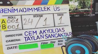 TRT 1 Benim Adım Melek dizisinden ilk kareler gelmeye başladı!