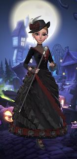 Black vampire dress