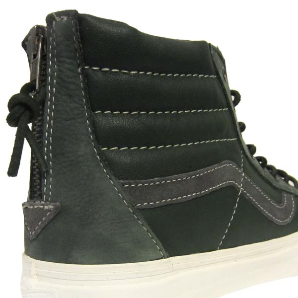 8cff939666a Vans Vault Sk8 Hi Reissue Zip LX. Nubuck Leather Suede. Sycamore