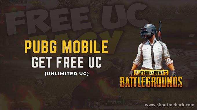 Grab Now Pubg Free UC.