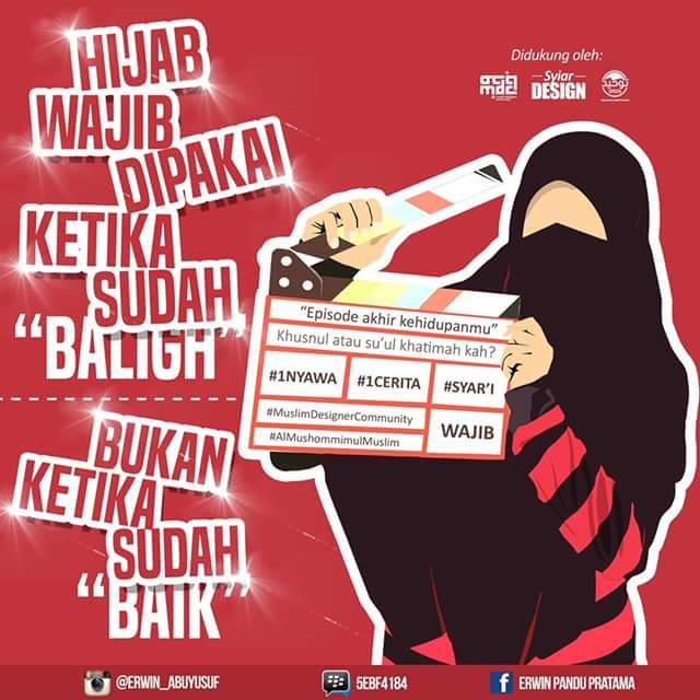 Muslim Remaja Indonesia Hijab Wajib Dipakai Ketika Sudah Baligh Bukan Ketika Sudah Baik
