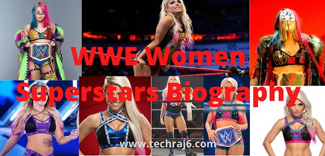 WWE Women Superstars Biography