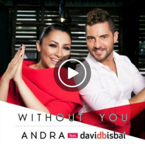 Andra feat. David Bisbal, Without You, ya disponible