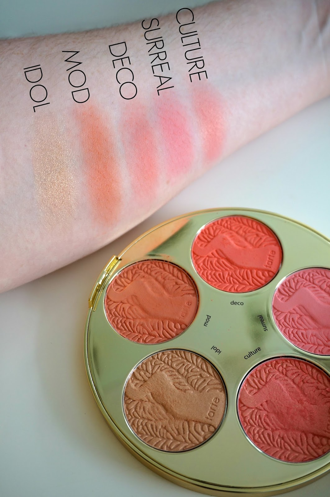 Rebecca Lately Tarte Color Wheel Blush Palette Review