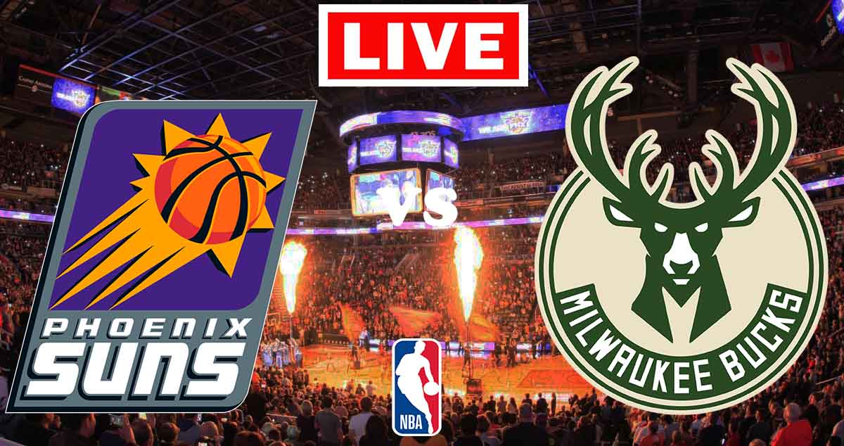 Finales de la NBA 2021 Ver Gratis En Vivo Phoenix Suns vs. Milwaukee Bucks.