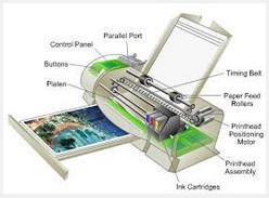 Fungsi Pada Bagian Bagian Printer