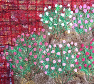Late Summer Roses, by Sue Reno, WIP16