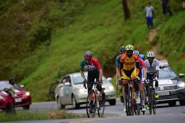 طواف رواندا لدراجات : سعيدي نسيم في المركز 34 في المرحلة السادسة