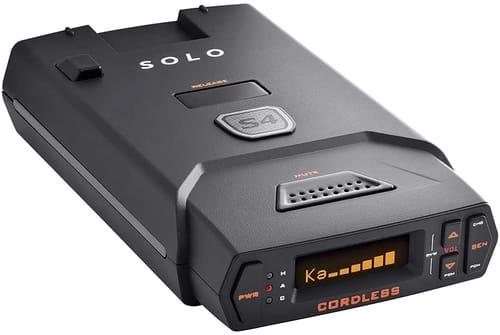 Review Escort Solo S4 OLED Display Radar Detector