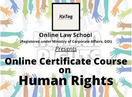 [Online] Certificate Course on Human Rights by KATOG [Register Soon]