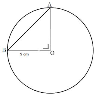 Soal Cara Menghitung Panjang Tali Busur Pada Lingkaran