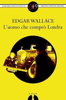 l'uomo che comprò Londra Edgar Wallace copertina