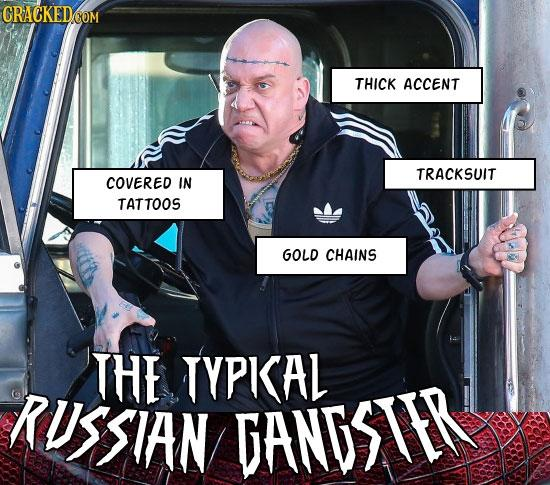 Typical Russian Gangster