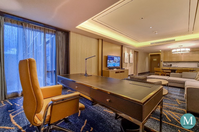 One-Bedroom Deluxe Suite at Hilton Manila