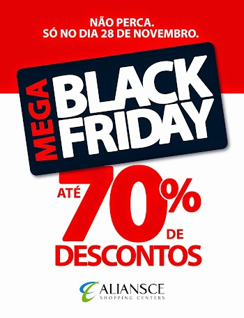 Black Friday mobiliza 10 shoppings administrados pelo grupo Aliansce
