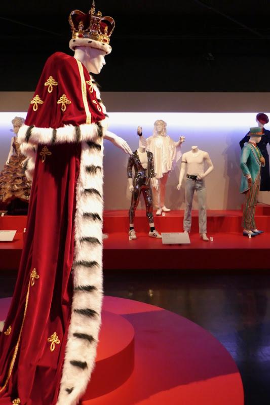 Freddie Mercury Bohemian Rhapsody film costumes FIDM Museum