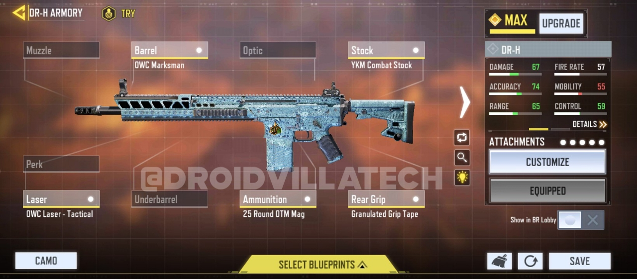 Cod mobile best weapon