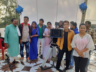Nakali Sindoor Bhojpuri Movie Shooting