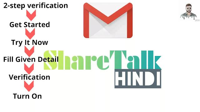Gmail two step verification process