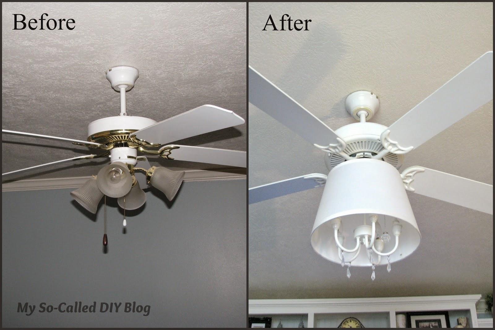 Diy Ceiling Fan Www Lightneasy Net