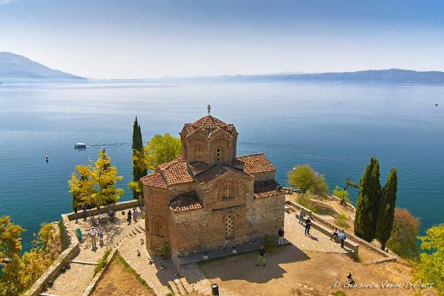 Iglesia de San Juan Kaneo en Ohrid - Macedonia, por El Guisante Verde Project