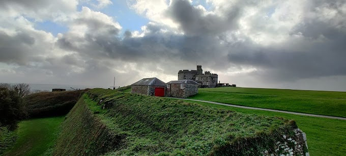 Pendennis Castle in Cornwall