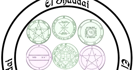 Hoodoo Hill: Seals of Solomon Pentacles ~ Set to Purpose