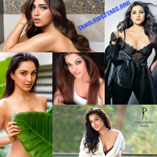 Seductive bollywood sexy babes photoshoot stills cum collages by Dabboo Ratnani