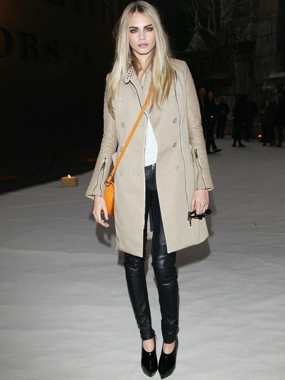A Fashionable Life Sean Fox Zastoupil Cara Delevingne Fashion Icon