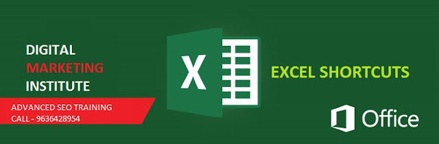 Excel Short Cuts for SEO