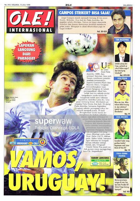 SEMIFINAL URUGUAY VS CHILE VAMOS URUGUAY