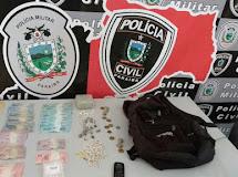 Policia prende em flagrante acusado de tráfico de drogas em Junco do Seridó