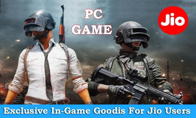 Jio PUBG LITE offers free gifts to players: Jio subscribers can get free