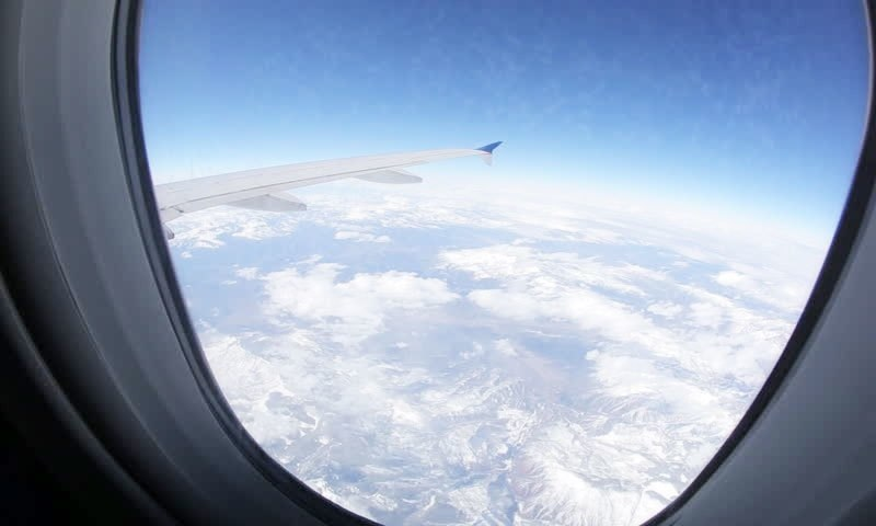 What effect does air travel have on the body